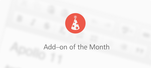 Add-on of the Month