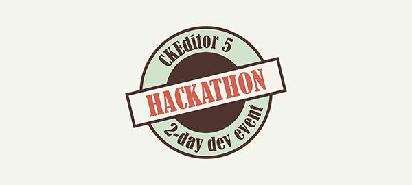 CKEditor 5 Hackathon logo