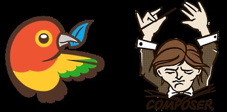 Bower and Composer logos