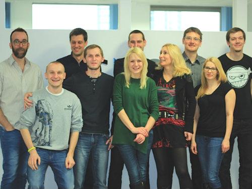 CKSource and WebSpellChecker teams combined!