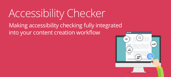 Accessibility Checker header