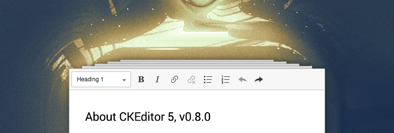 8th developer preview of CKEditor 5 available blog post image