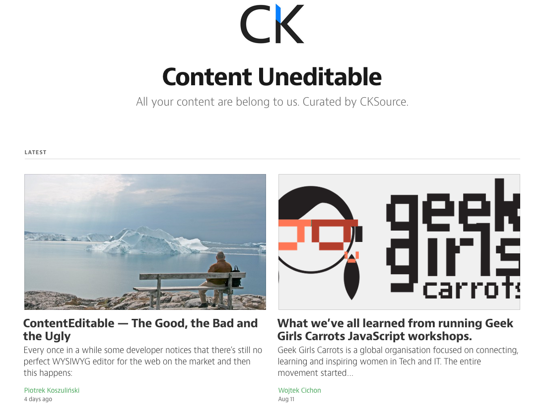 CKSource on Medium