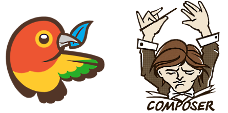 Bower and Composer logos