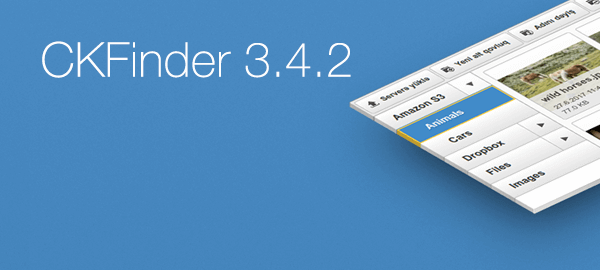 CKFinder 3.4.2 release blog post